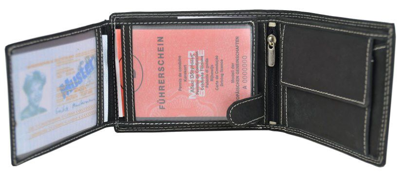 Solo Pelle Dublin Geldbörse aus geöltem Büffel Leder für 15€ (statt 28€)