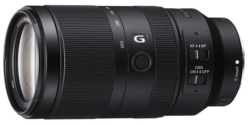 Sony E 70 350mm f/4.5 6.3 G OSS Super Telezoom Objektiv für 669€ (statt 745€) + 50€ Amazon Gutschein!