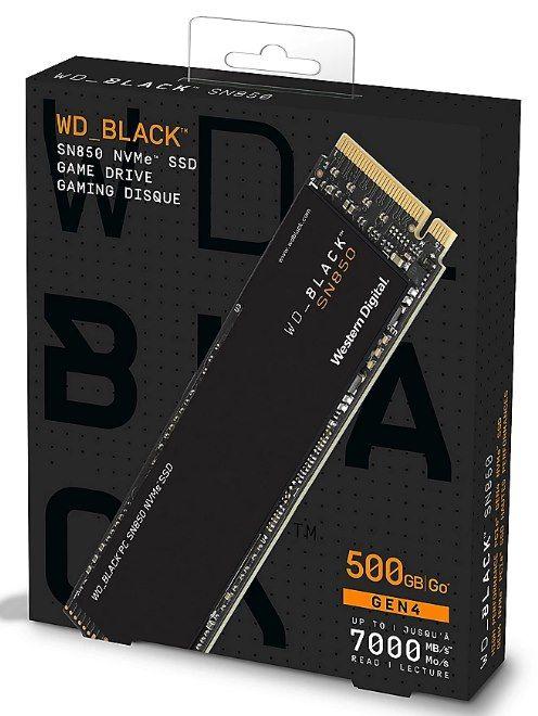Western Digital SN850 M.2 NVMe Gaming SSD mit 500GB für 89,90€ (statt 103€)