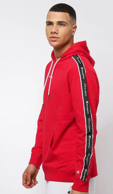 Champion LEG American Classics Hooded Sweatshirt in rot für 22,50€ (statt 42€)