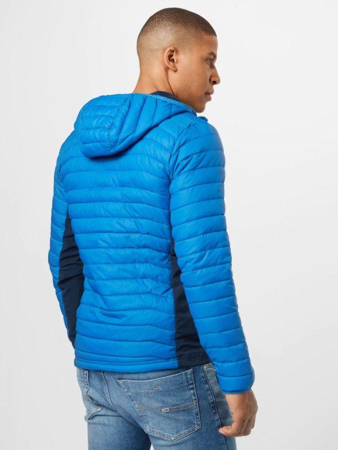Columbia Powder Pass Jacke in blau für 48,93€ (statt 70€)