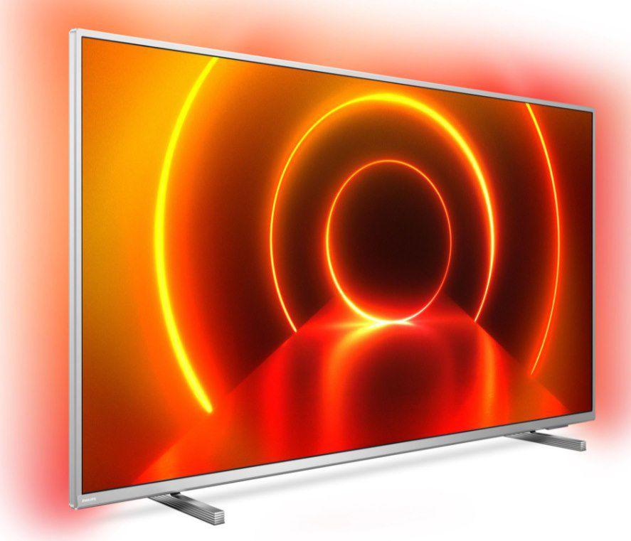 Philips 70PUS8105/12   70 Zoll LED Fernseher (4K Ultra HD, Smart TV, 3 seitiges Ambilght) für 683,60€ (statt 799€)