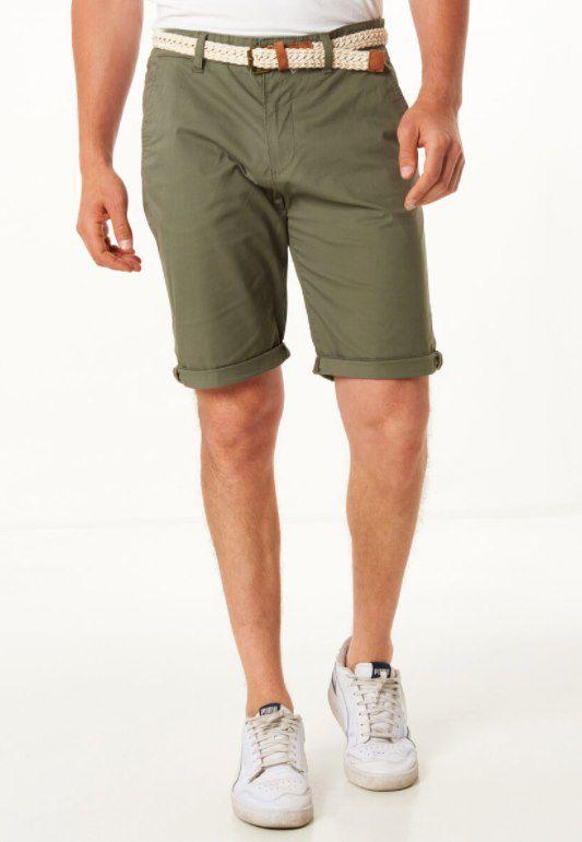 3er Pack Esprit Bermuda Shorts mit Flechtgürtel für 62,97€ (statt 91€)
