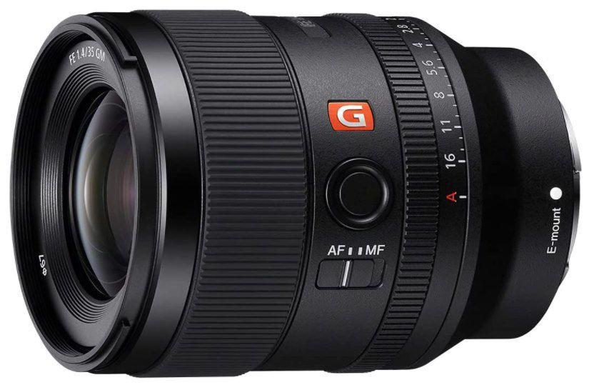 Sony SEL35F14GM   FE 35mm F1.4 GM Objektiv für 1.393,58€ (statt 1.659€)