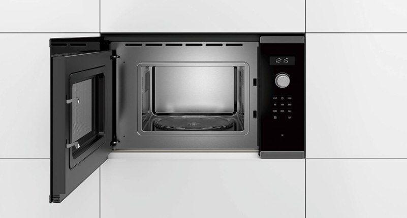Bosch BFL524MS0 Serie 6 Einbau Mikrowelle mit 800W für 199,34€ (statt 229€)