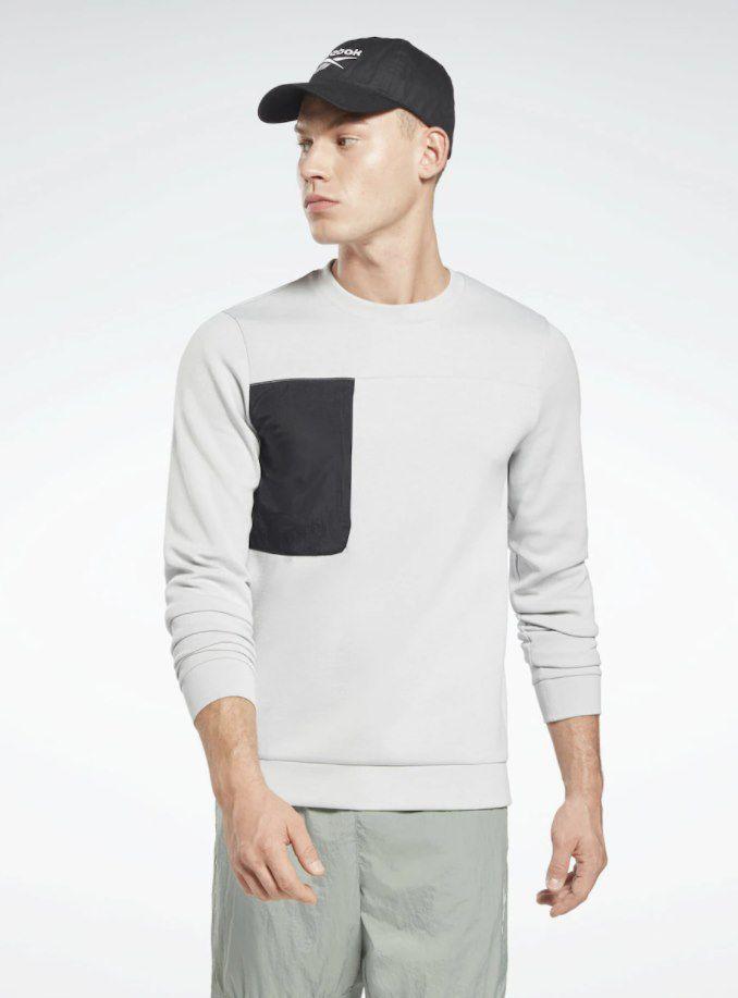 Reebok MYT Crew Classic Sweatshirt in Grau für 15,90€ (statt 30€)   Restgrößen