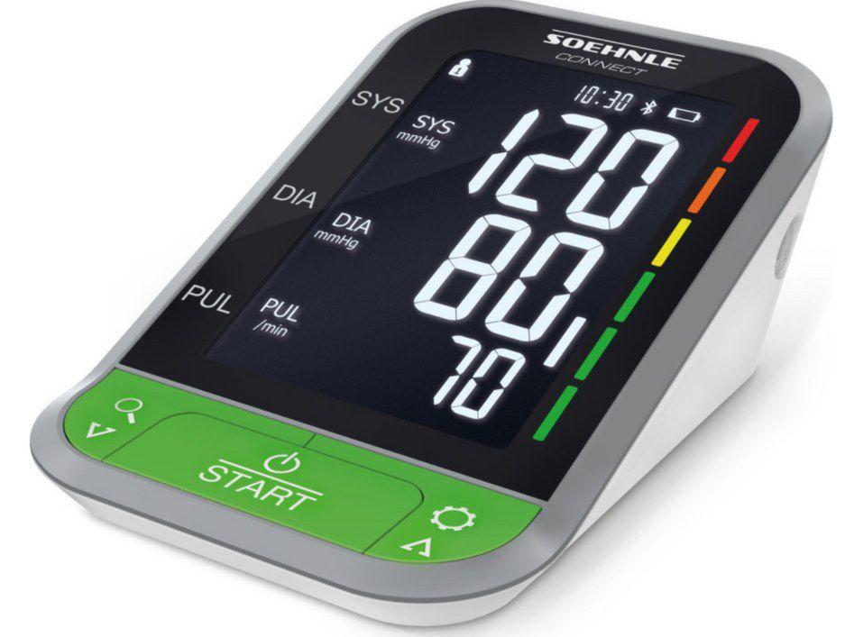 Soehnle Systo Monitor Connect 400 Oberarm Blutdruckmessgerät mit Bluetooth für 40,90€ (statt 56€)