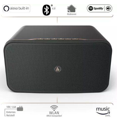 Hama SIRIUM2000AMBT Streaming Lautsprecher mit Alexa Verbindung für 149€ (statt 165€)
