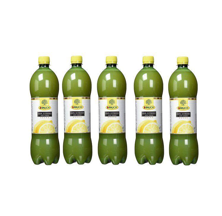 Rauch Culinary Zitronensaft 100% (6 x 1 l) für 6,78€ (statt 19€) – Prime