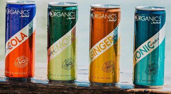 Kostenloses Red Bull Organics Probierpaket erspielen