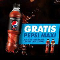 Pepsi Max (0,5 Liter) kostenlos ausprobieren