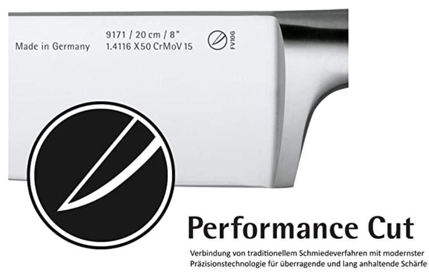 WMF Cuisine Plus Santoku Messer 32,5 cm geschmiedet für 42,24€ (statt 50€)