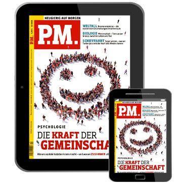 P.M. Magazin   E Paper Jahresabo für 30,04€ + Prämie: 30€ Gutschein