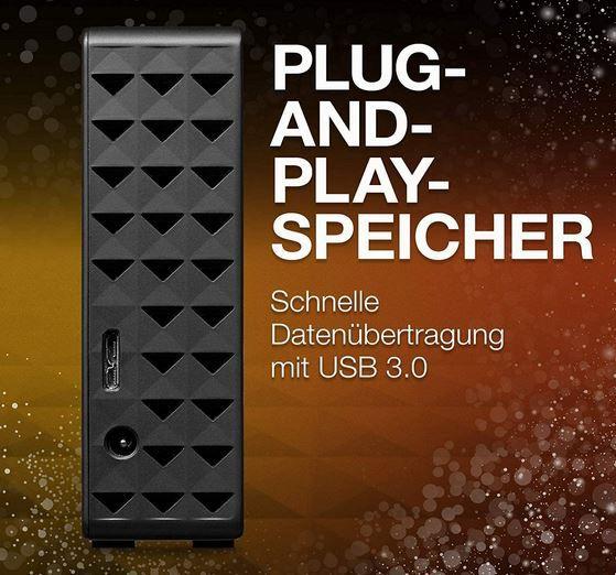 Seagate Backup Plus Hub ext. 16TB 3.5 Festplatte für 297,99€ (statt 430€)