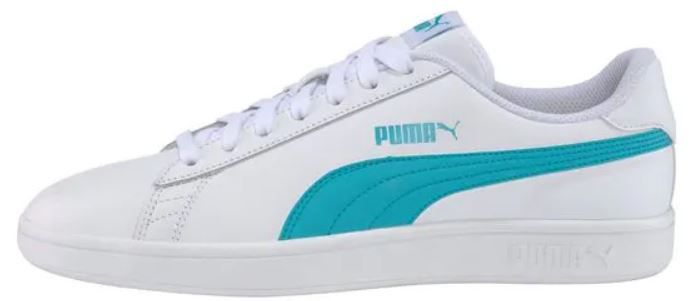 Puma Smash v2 Unisex Leder Retro Sneaker für 21,89€ (statt 37€)