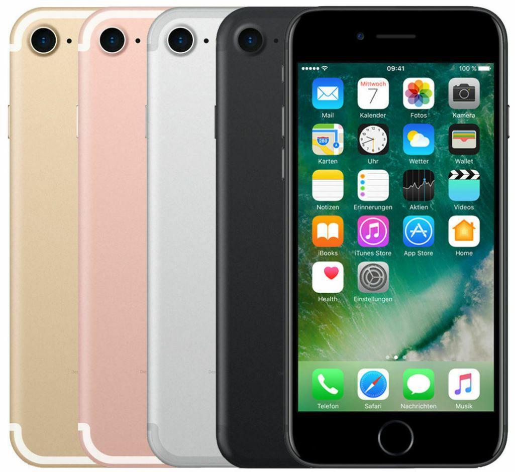 Apple iPhone 7 mit 32GB in Schwarz für 149,90€ (statt 227€)   Gebrauchtware