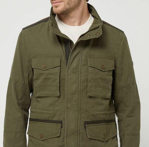 Tom Tailor Fieldjacket aus Bio Baumwolle für 29,99€ (statt 80€)