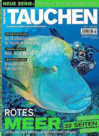 12 Ausgaben vom Tauchen Magazin für 91€ + Prämie: bis 90€ Gutschein