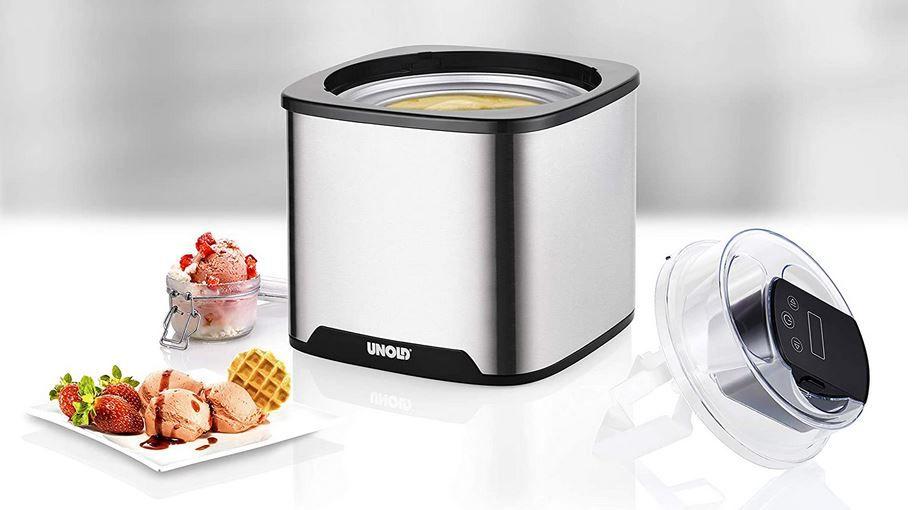 Unold Gelato 48855   einfache 1,5l Eismaschine für 49,94€ (statt 55€)
