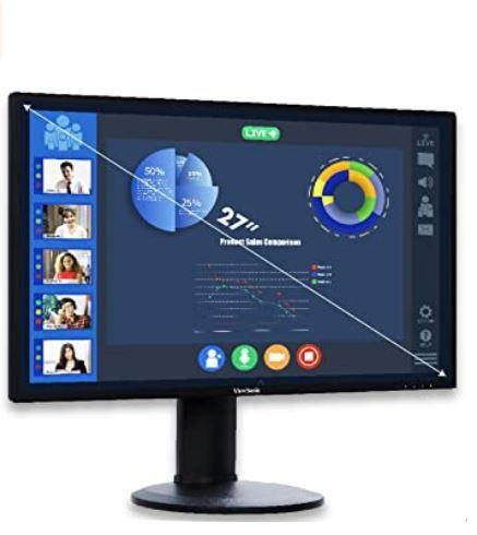 Viewsonic VG2719-2K 27Zoll WQHD IPS Business Monitor für 217,99€ (statt 259€)
