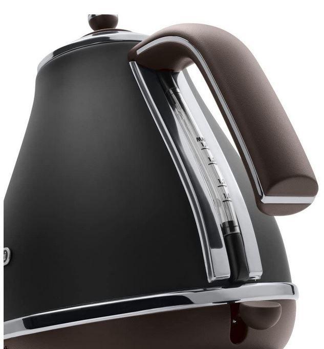 DeLonghi Icona Vintage KBOV2001.BK Retro Wasserkocher 1,7l für 44,89€ (statt 57€)