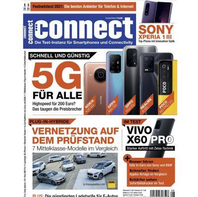 Jahresabo des Technik-Magazins connect direkt für 29,95€ (statt 84€)