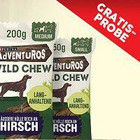 Purina AdVENTuROS Wild Chew Kausticks gratis ausprobieren