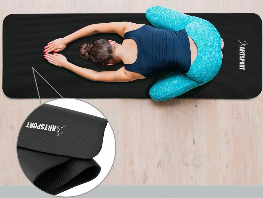 ArtSport Gymnastik  u. Yogamatte rutschfest & gelenkschonend für 16,95€ (statt 20€)