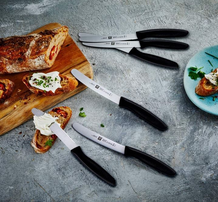 ZWILLING Küchen Messer Set 6 tlg. für 17,99€ (statt 40€)  prime
