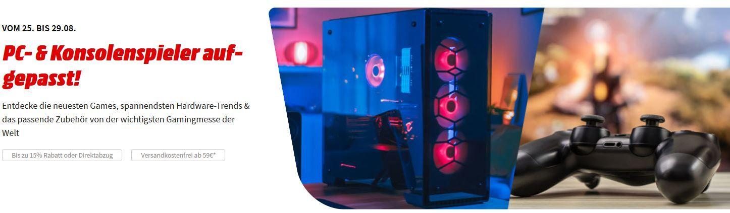 Media Markt Gamescom Deals: LOGITECH G733 Light Speed Over ear Headset für 90,30€ (statt 136)