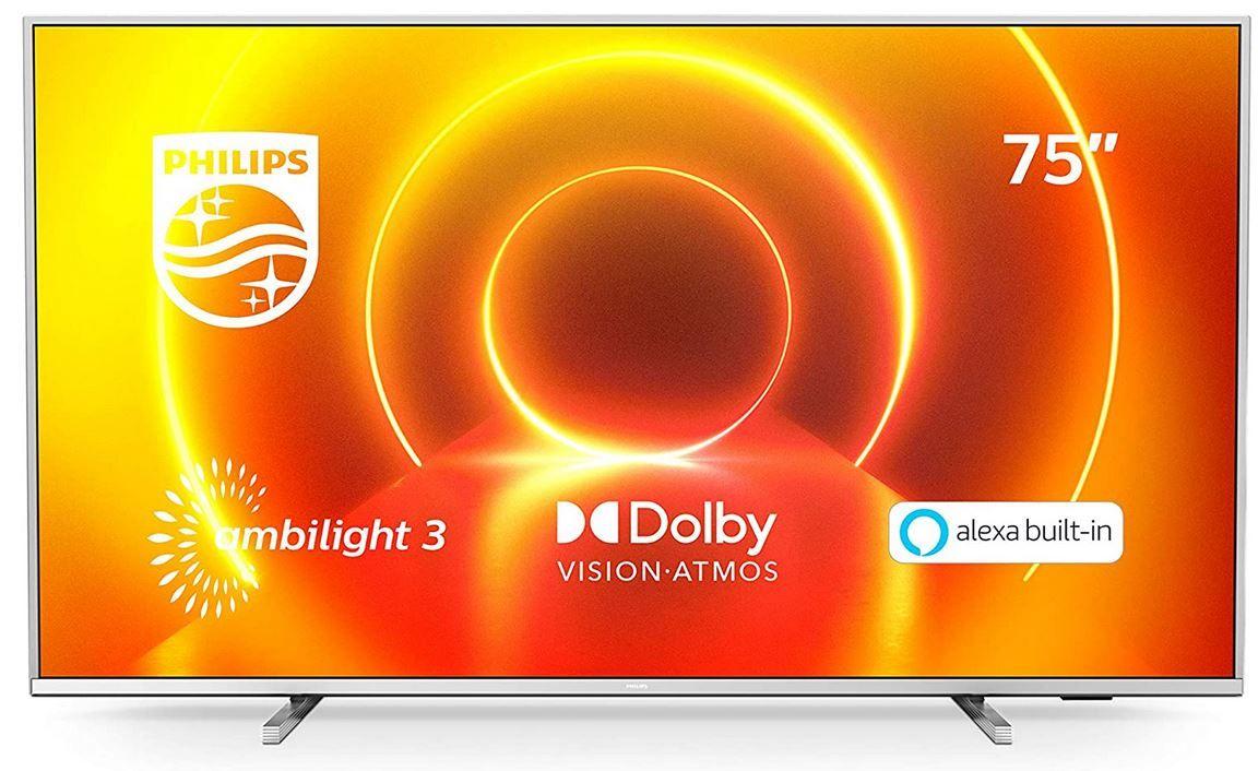 Philips 75PUS7855/12   75Zoll Ambilight smart TV für 879€ (statt 999€)