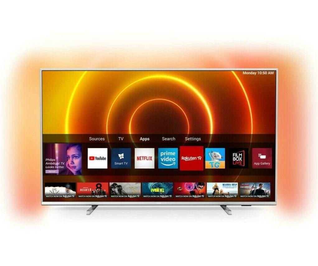 Philips 75PUS7855/12 – 75Zoll Ambilight smart TV für 879€ (statt 999€)