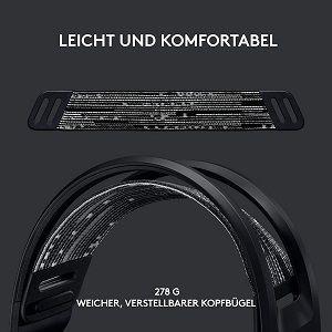 LOGITECH G733 Light Speed Overear Headset in Schwarz für 90,30€ (statt 121€)