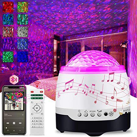 Ansody LED Sternenhimmel Projektor mit BT Lautsprecher für 13,99€ (statt 28€) – Prime