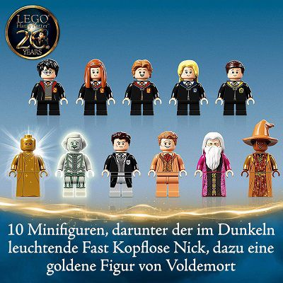 Lego (76389)   Harry Potter Hogwarts Kammer des Schreckens für 83,99€ (statt 109€)
