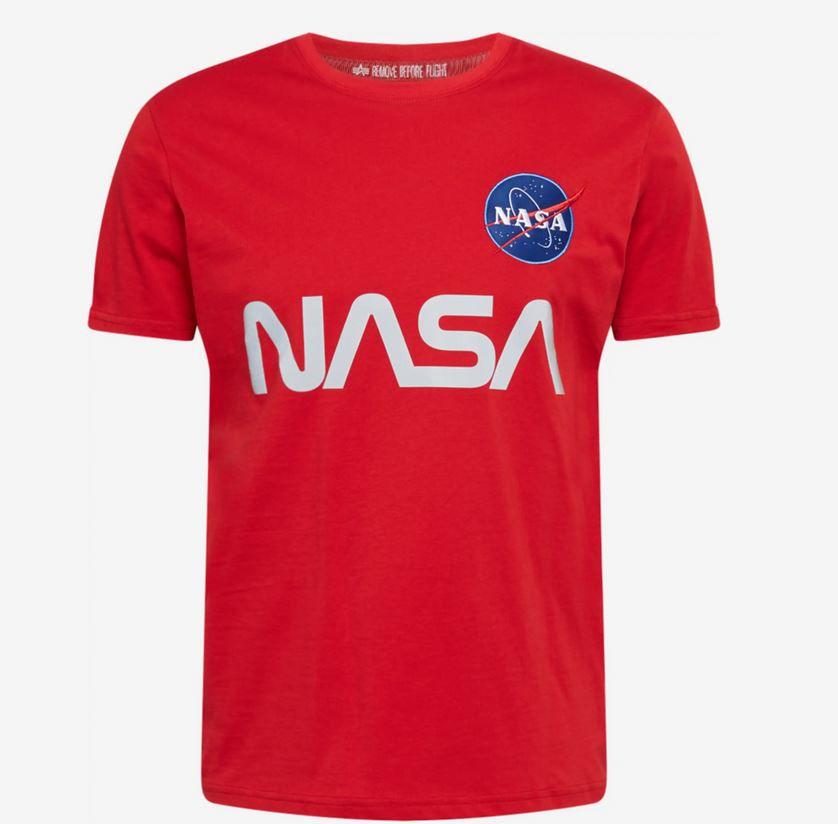 Alpha NASA Reflective T   Herren Shirt für 23,92€ (statt 29€)