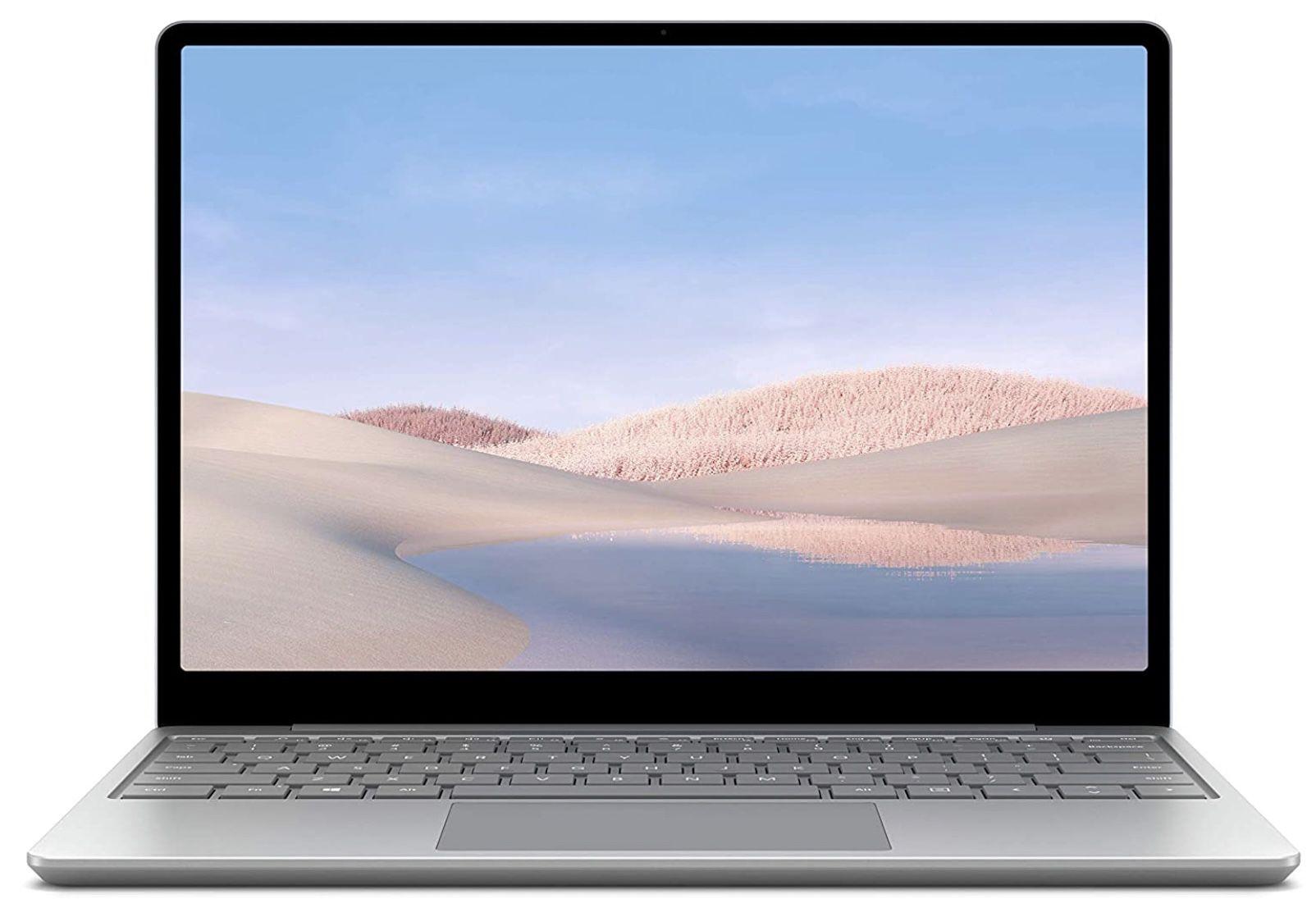 Microsoft Surface Laptop Go Platin mit 8GB RAM und 128GB SSD für 499€ (statt 554€)