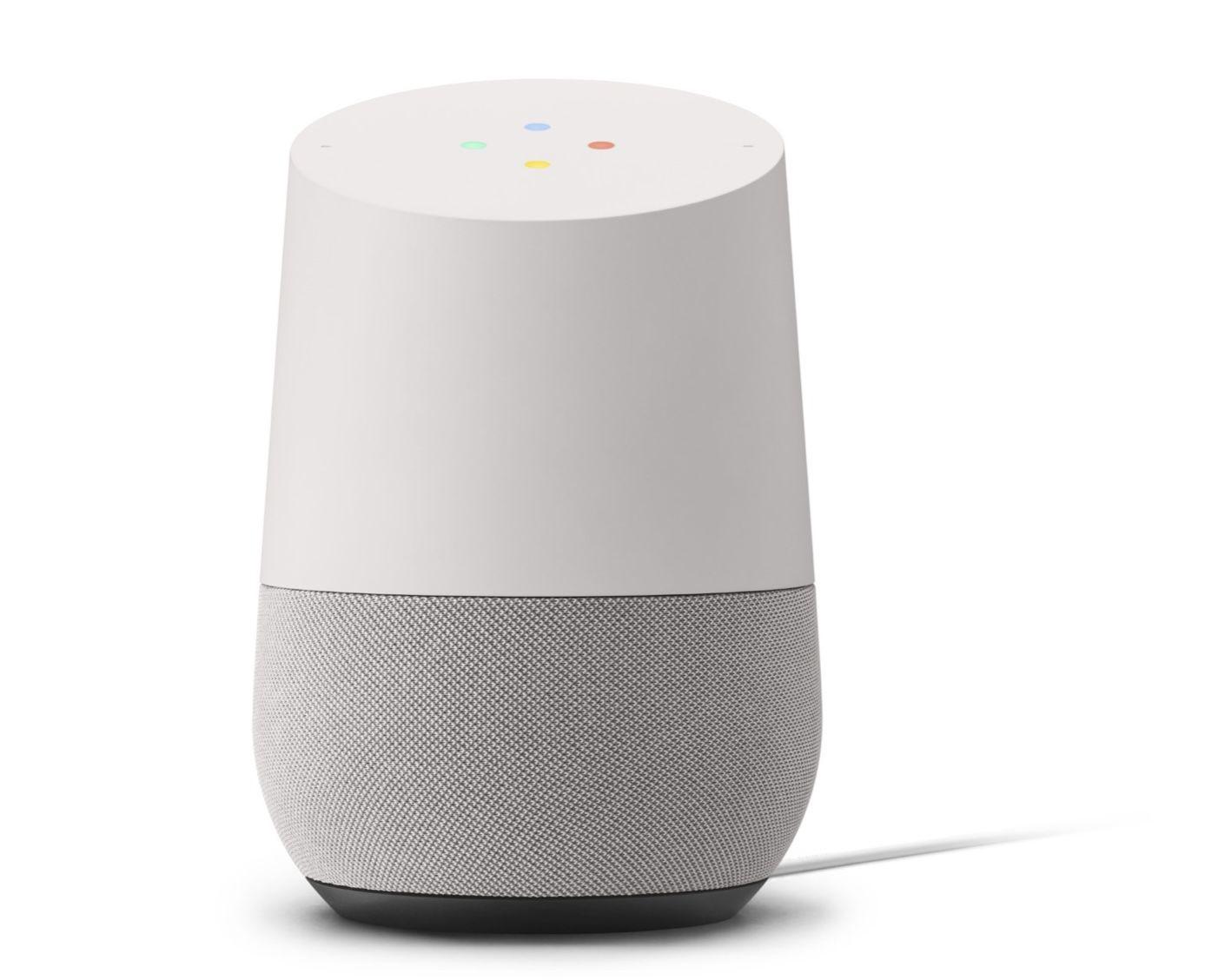 Google Home Smart-Lautsprecher mit Speaker Far Field-Spracherkennung für 39,90€ (statt 61€) -refurb
