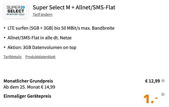 Xiaomi Mi 11 Lite 1€ + o2 Allnet Flat mit 8GB LTE für 12,99€ mtl.