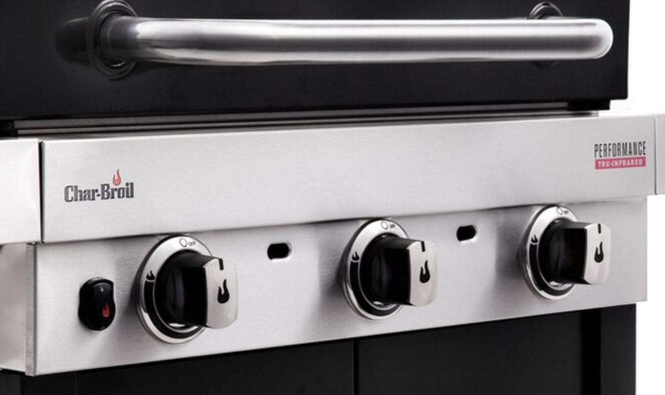 Char Broil Performance 340 B Gasgrill mit 3 Brennern & TRU Infrared System ab 299,99€ (statt 430€)