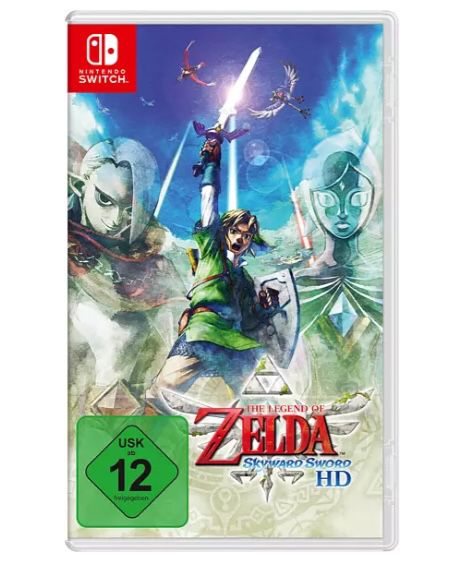 The Legend of Zelda: Skyward Sword HD (Switch) + Switch Pro Controller für 90,78€ (statt 108€)