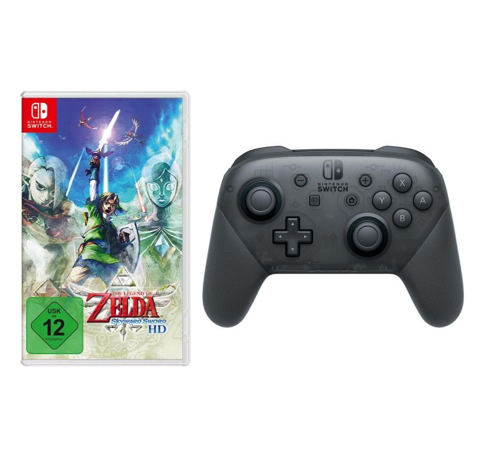 Ab 9 Uhr: The Legend of Zelda: Skyward Sword HD (Switch) + Switch Pro Controller für 79,99€ (statt 108€)