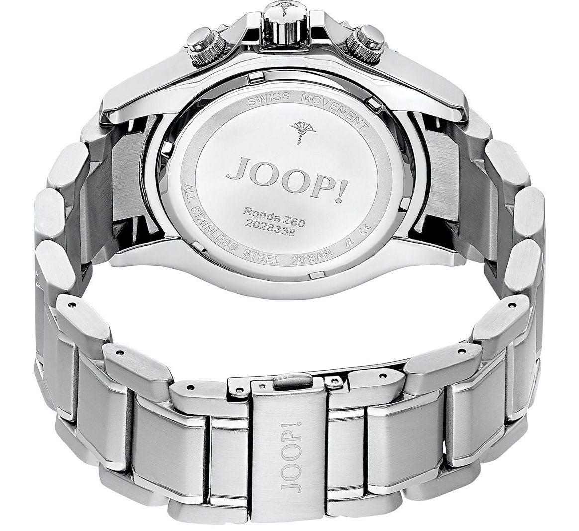JOOP! Herren Chronograph 2028338 mit Edelstahl Armband und Faltschließe für 263,20€ (statt 330€)