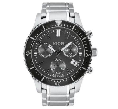 """JOOP! Herren Chronograph """"2028338"""" mit Edelstahl-Armband und Faltschließe für 263,20€ (statt 330€)"""