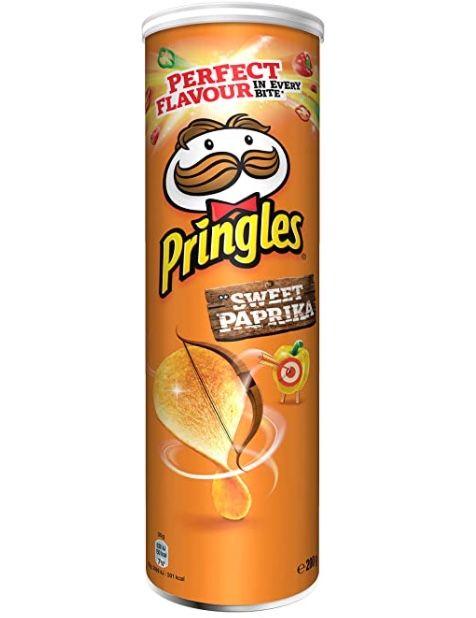 4x Pringles Sweet Paprika (je 200g) ab 4,64€   Prime Sparabo