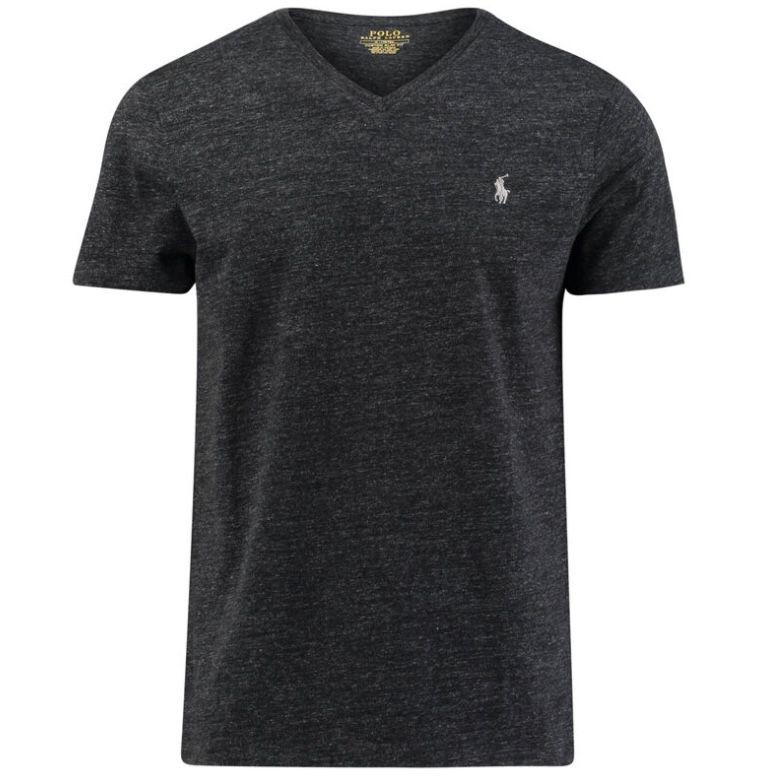 Polo Ralph Lauren Herren Slim Fit T-Shirt mit V-Neck für 41,70€ (statt 50€) – M, L, XL