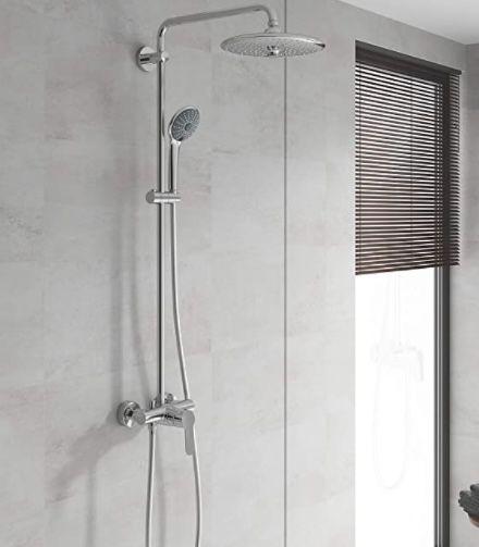 GROHE Vitalio Joy System 260 Duschsystem mit Einhandmischer für die Wandmontage für 198,48€ (statt 359€)