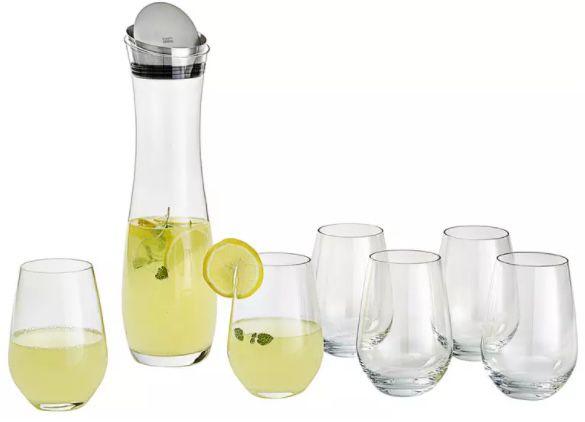 Schott Zwiesel Karaffe Fresca (1 L) + 6 Gläser Vina (je 0,5 L) für 33,94€ (statt 60€)