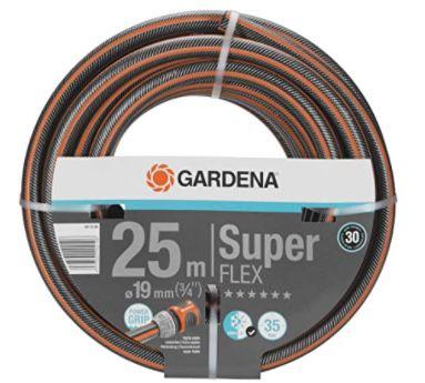 25 Meter Gardena Premium SuperFLEX Schlauch 19 mm (3/4 Zoll) für 50,33€(statt 67€)