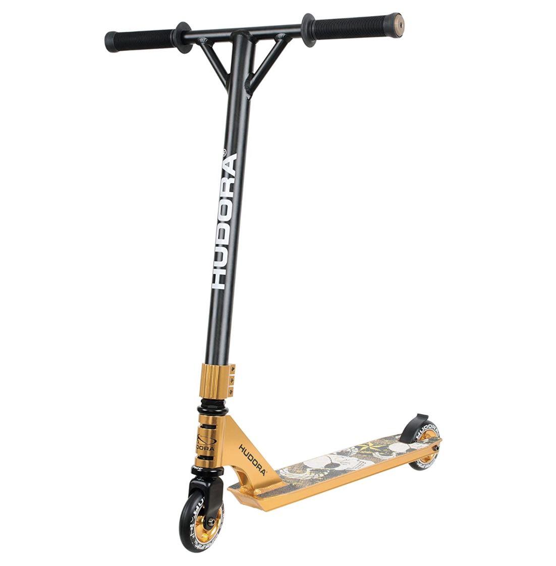 HUDORA 14027 Stunt-Scooter XR-25 in Gold für 61,24€ (statt 79€)